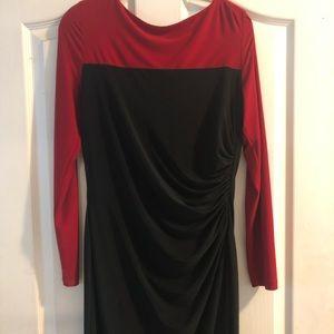 Chaps long sleeve dress